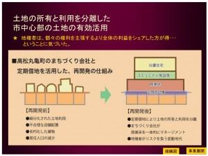 レポ)一体的な街づくり~高松丸亀町商店街の地域再生事業~