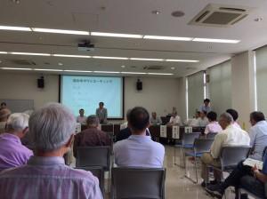 平成28年7月タウンミーティング@おおたかの森(水道局)