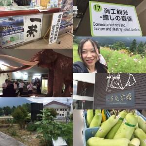 長野県信濃町を表敬訪問